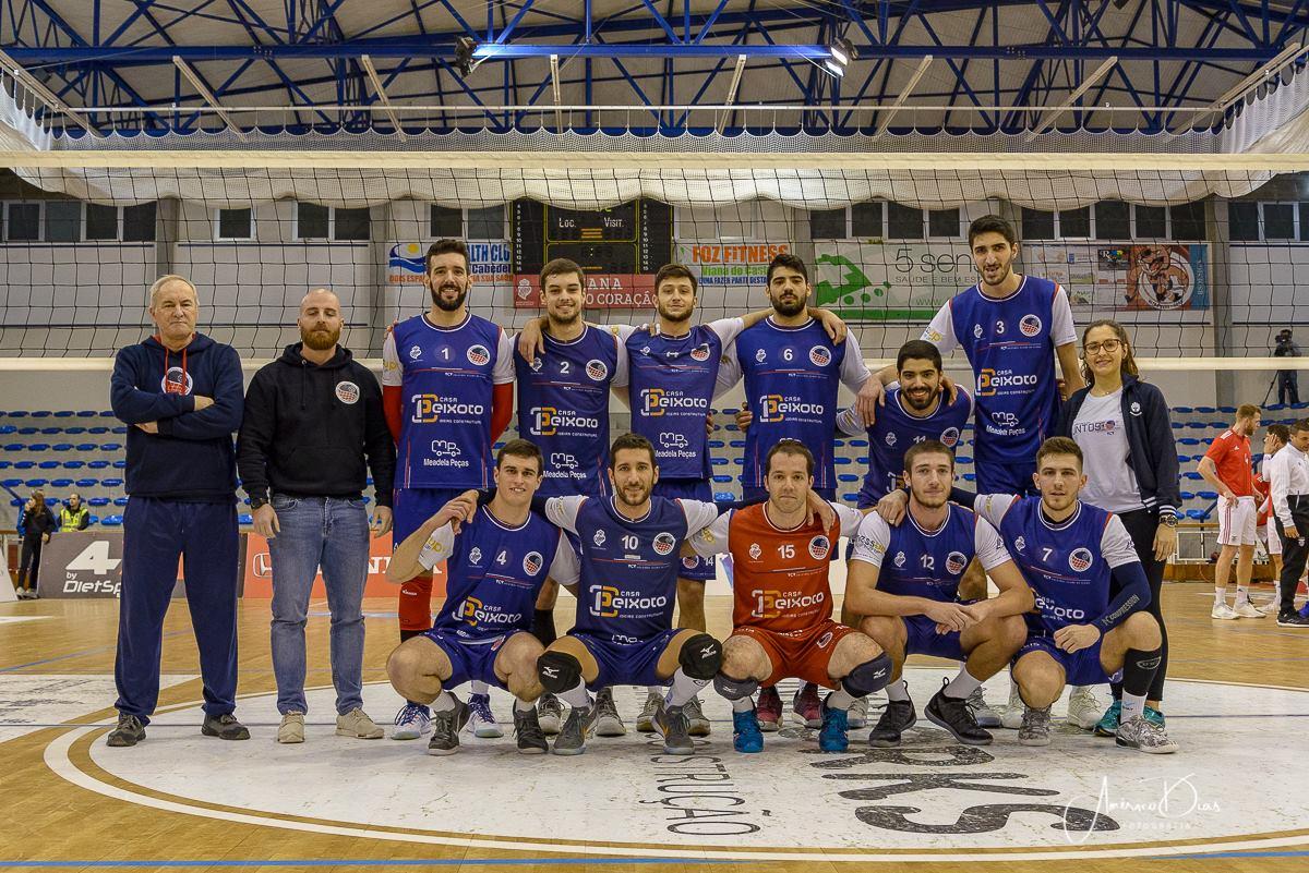 Voleibol Clube de Viana recebe Sporting de Espinho nos 'oitavos' da Taça de Portugal