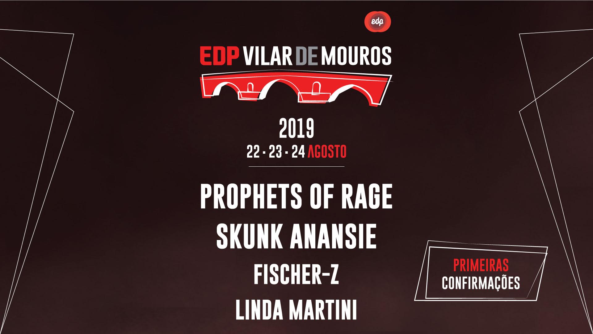 Linda Martini, Prophets of Rage, Skunk Anansie e Fischer-Z são primeiros nomes confirmados em Vilar de Mouros