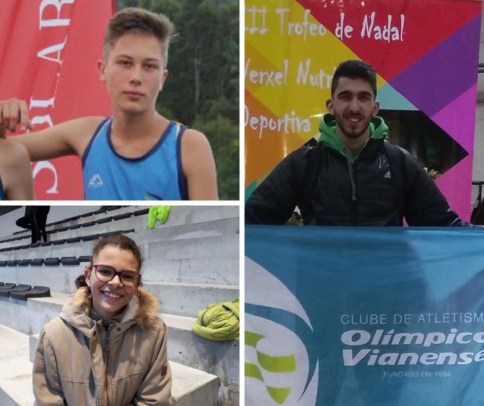 Atletas do Olímpico Vianense arrecadam cinco pódios em Espanha
