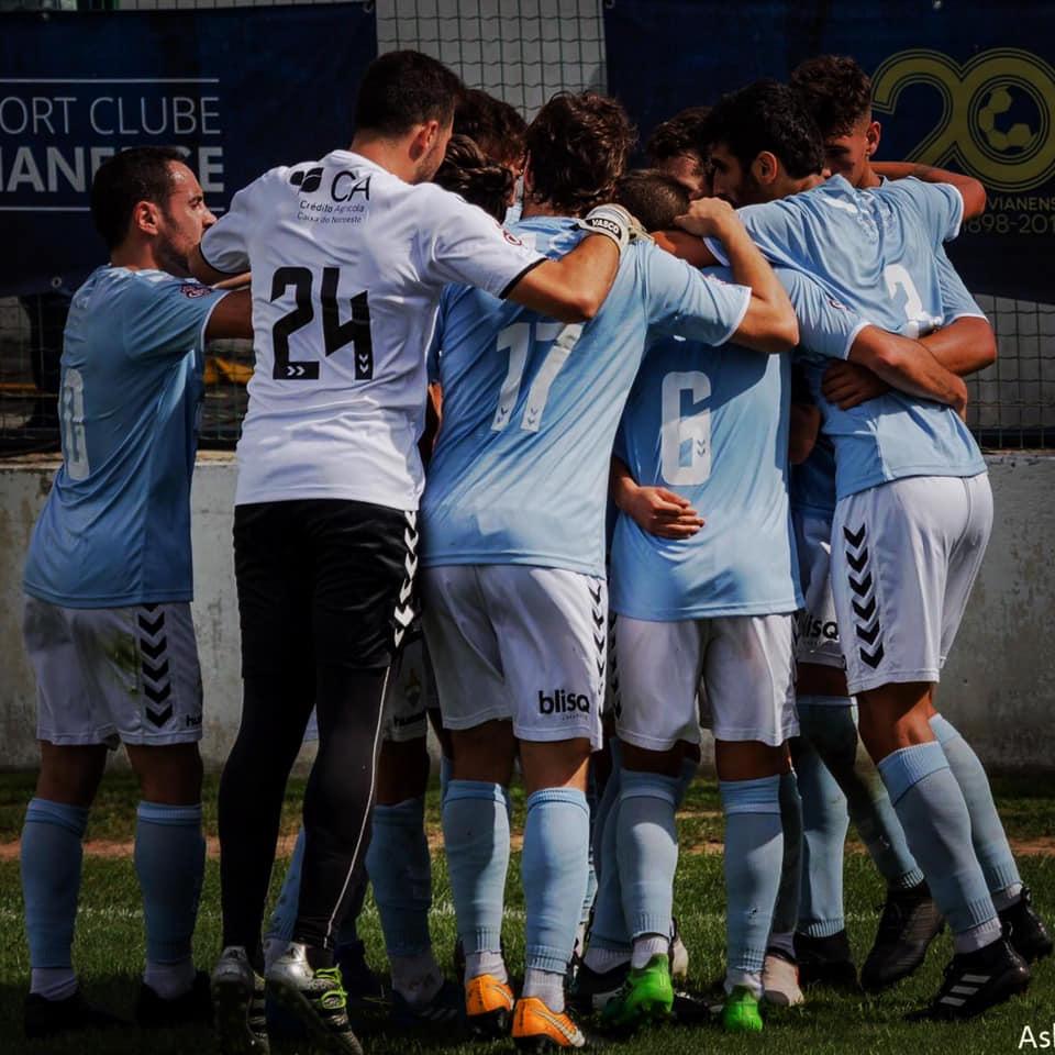 Futebol distrital: SC Vianense vence o Desportivo de Monção