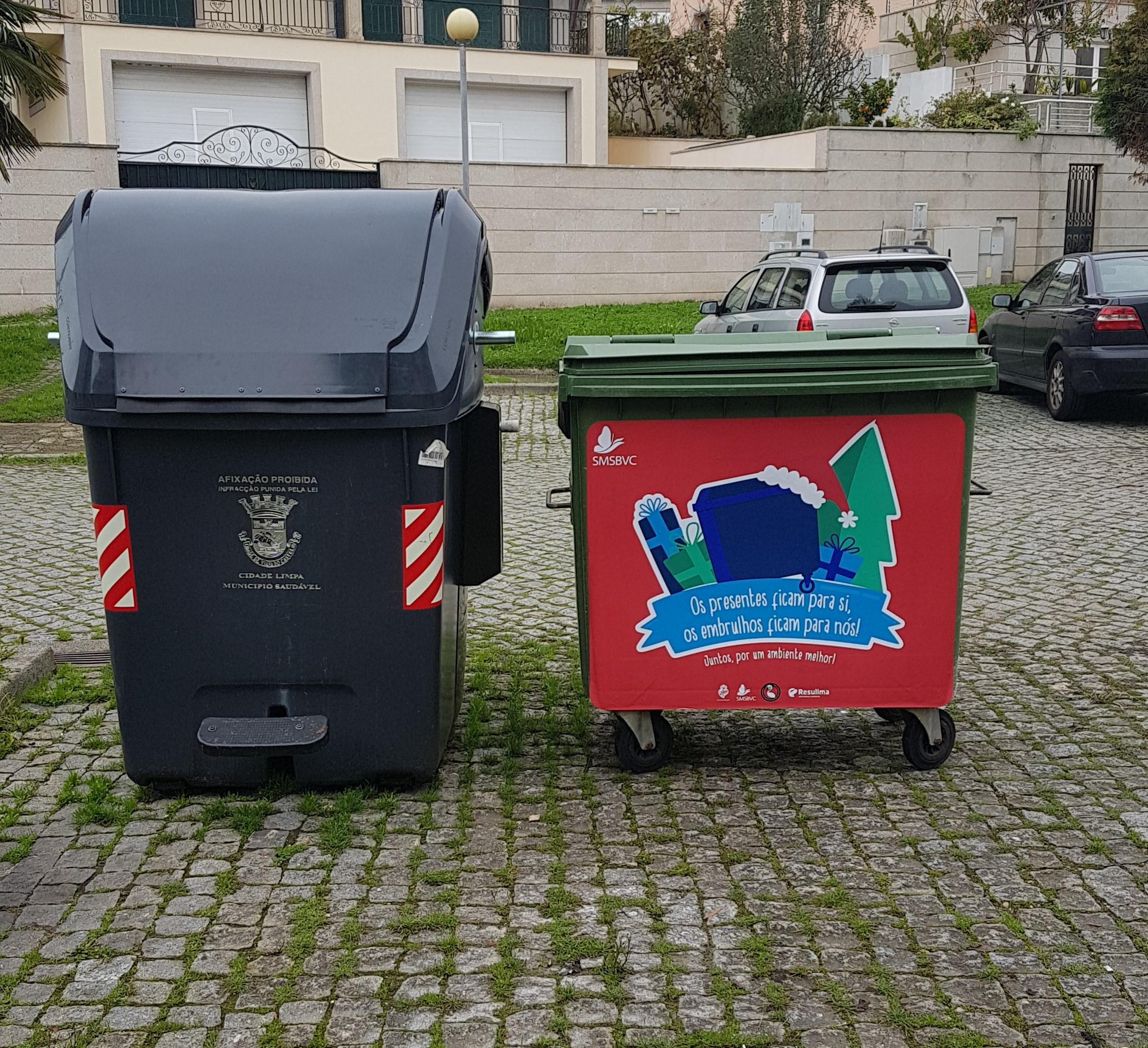Campanha para reciclar papel dos presentes arranca na véspera de Natal em Viana