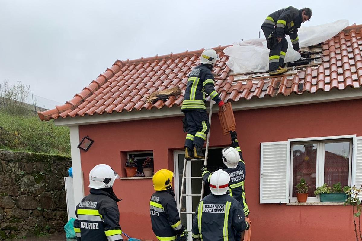 Recuperador de calor incendiou-se em habitação de Arcos de Valdevez