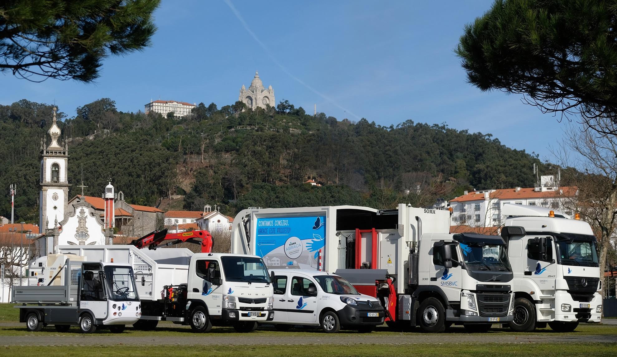 Recolha e valorização de resíduos reforçadas com equipamentos orçados em mais de 400 mil euros