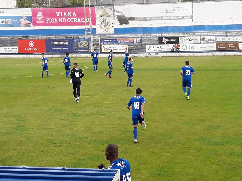 Futebol: SC Vianense vence Ponte da Barca no jogo da jornada no distrital da 1ª divisão