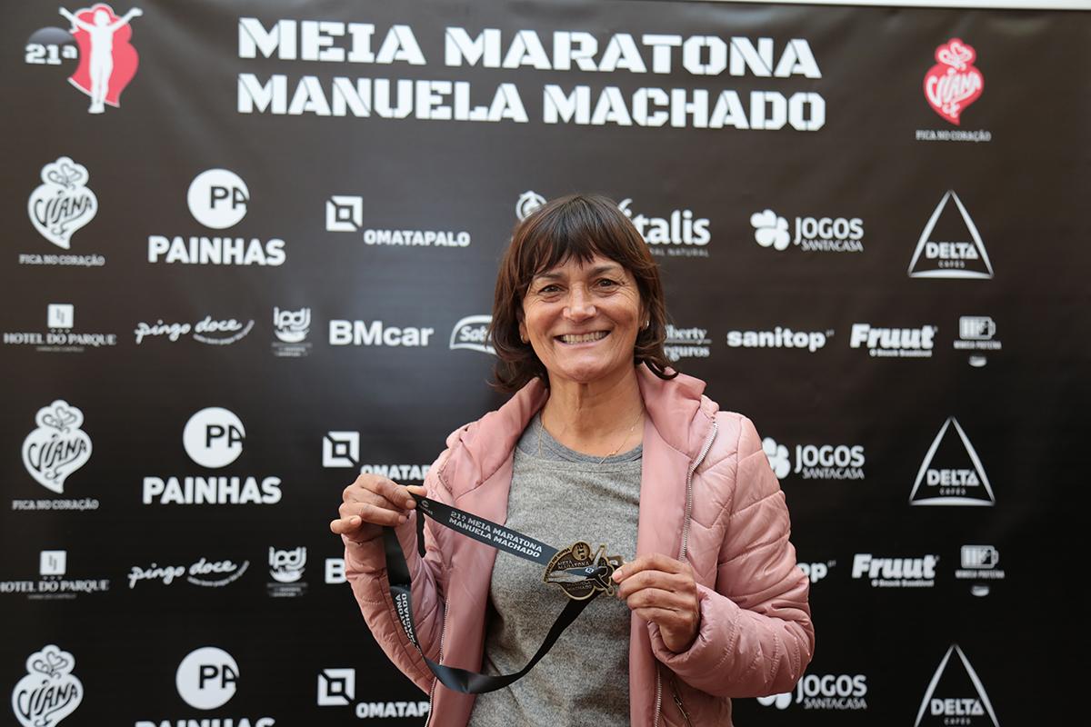 Dulce Félix e Hermano Ferreira são cabeças de cartaz da meia maratona Manuela Machado