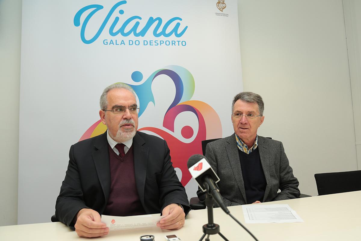 """Viana bate """"recorde"""" de campeões nacionais e internacionais a homenagear na gala do dia 25"""