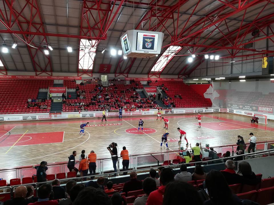 Hóquei em Patins: Juventude de Viana perde frente ao Benfica na Luz para o nacional da 1ª divisão