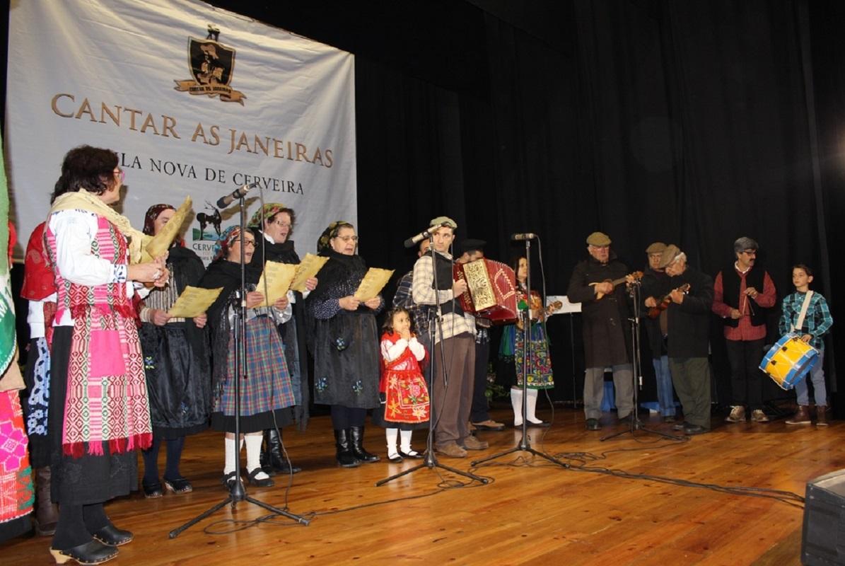 """X edição do """"Cantar as Janeiras"""" junta hoje 16 grupos em Vila Nova de Cerveira"""
