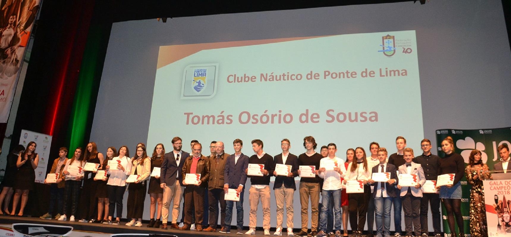 Mais de 60 atletas de ponte de Lima homenageados pela Federação Portuguesa de Canoagem