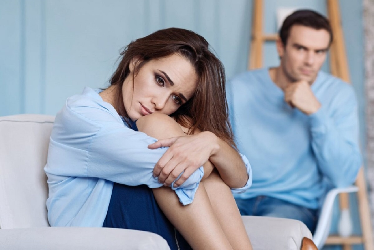 O que causa stress são os maridos e não os filhos