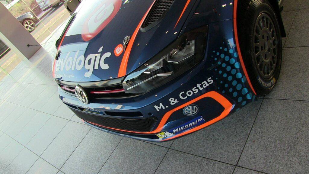 Pedro Meireles apresenta novo carro e promete que vai entrar em cada rali para ganhar