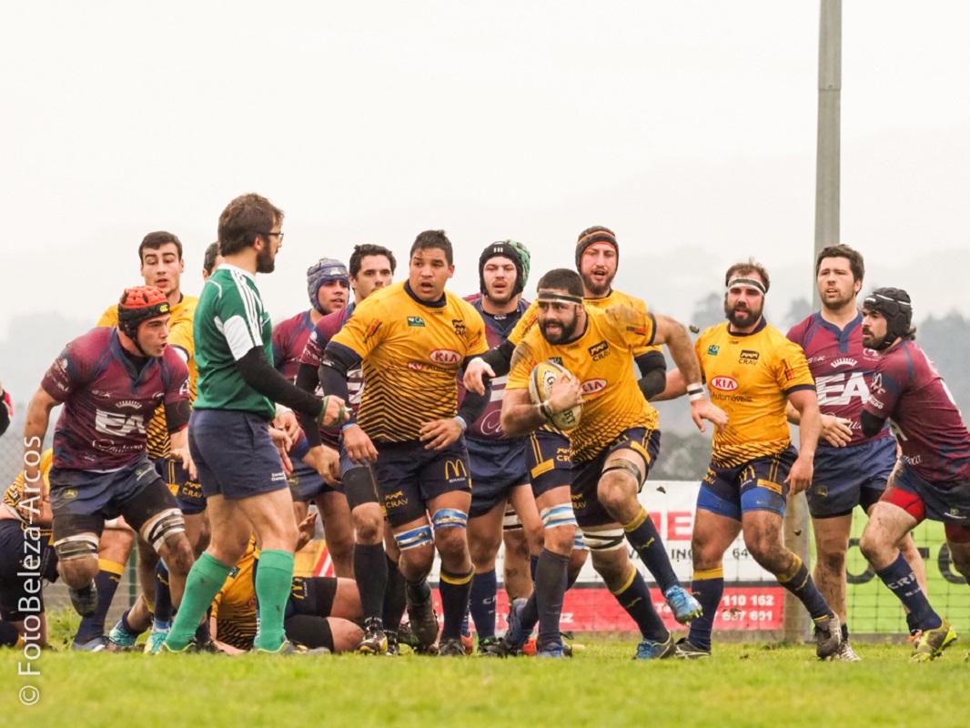 Clube de Rugby de Arcos de Valdevez vence Clube de Rugby de Évora por 11-10
