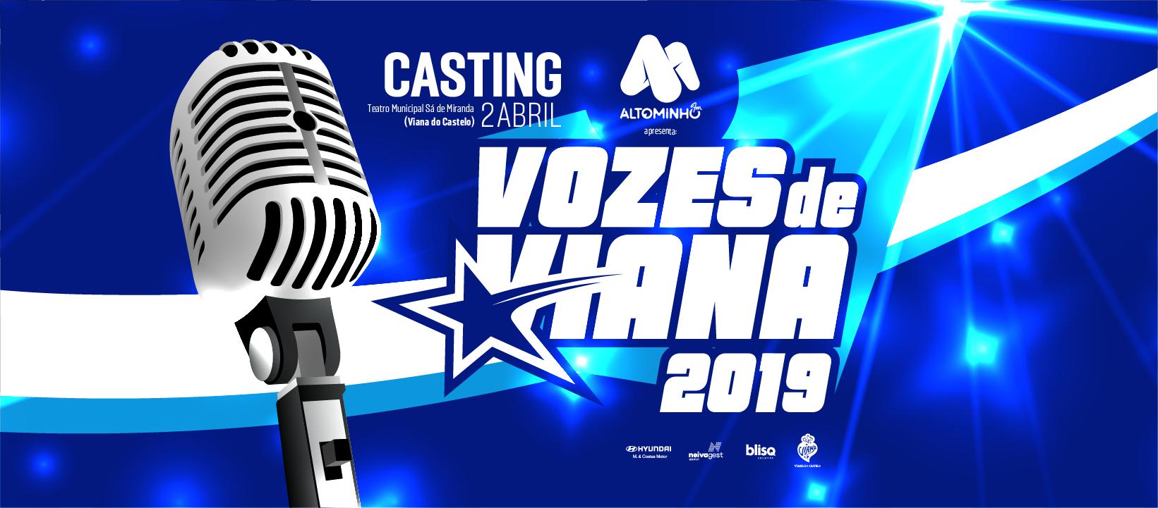 CASTING – VOZES DE VIANA 2019