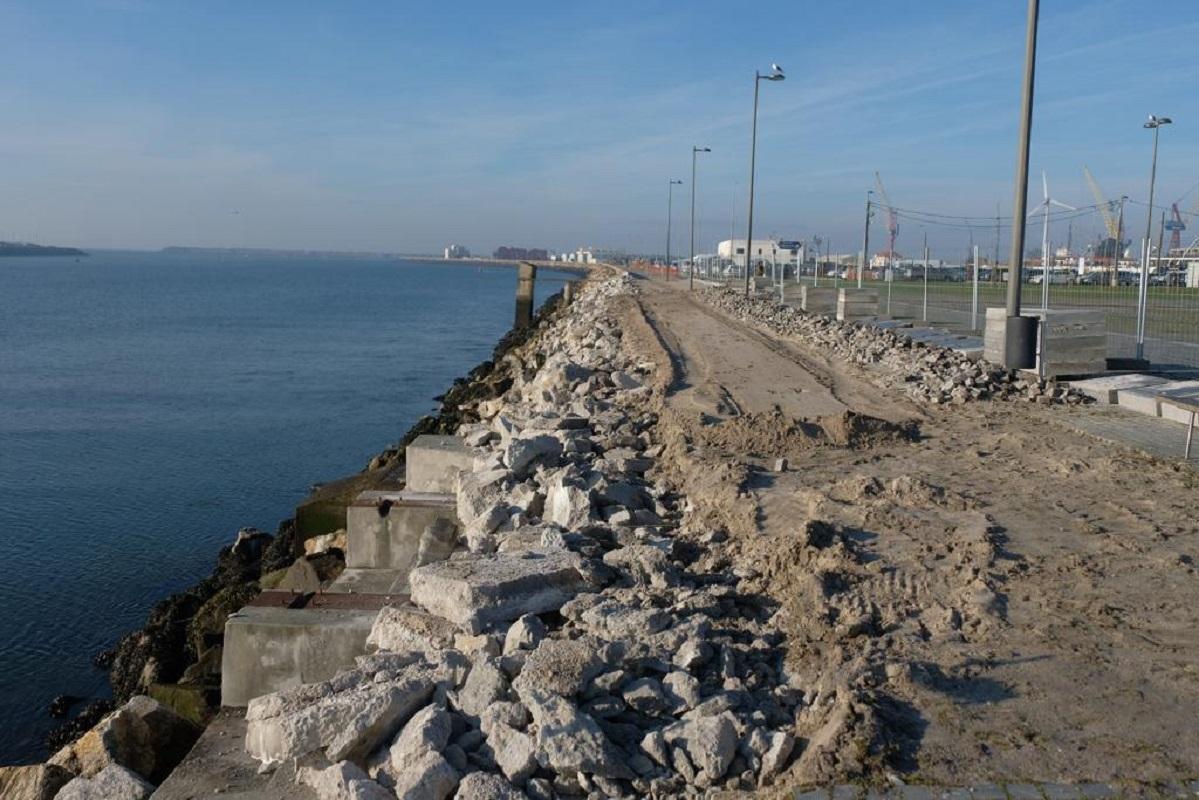 Obras de continuação da ciclovia da frente ribeirinha de Viana já arrancaram