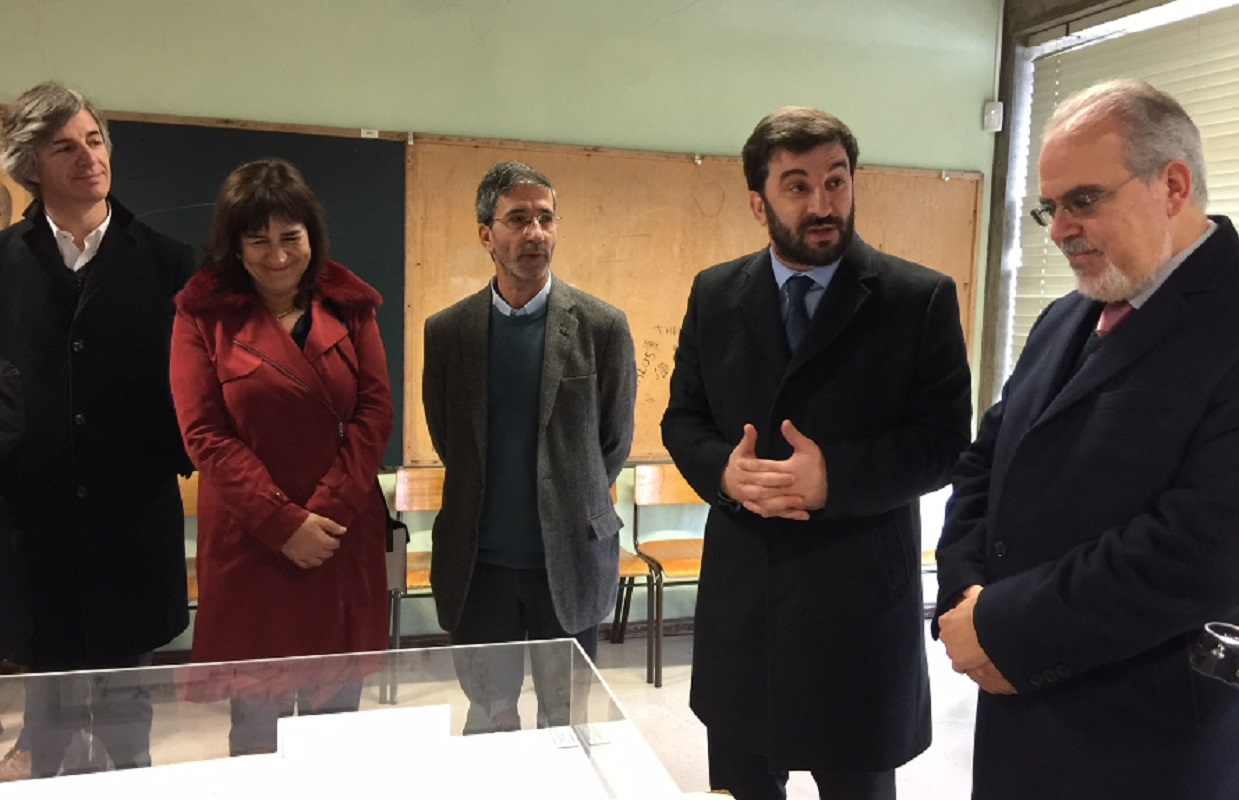 Ministro da Educação visita obras nas escolas Frei Bartolomeu dos Mártires e de Barroselas