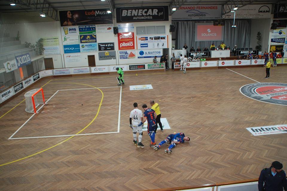 Hóquei em patins: Juventude de Viana empata em Turquel e mantém sexto lugar da classificação da 1ª divisão