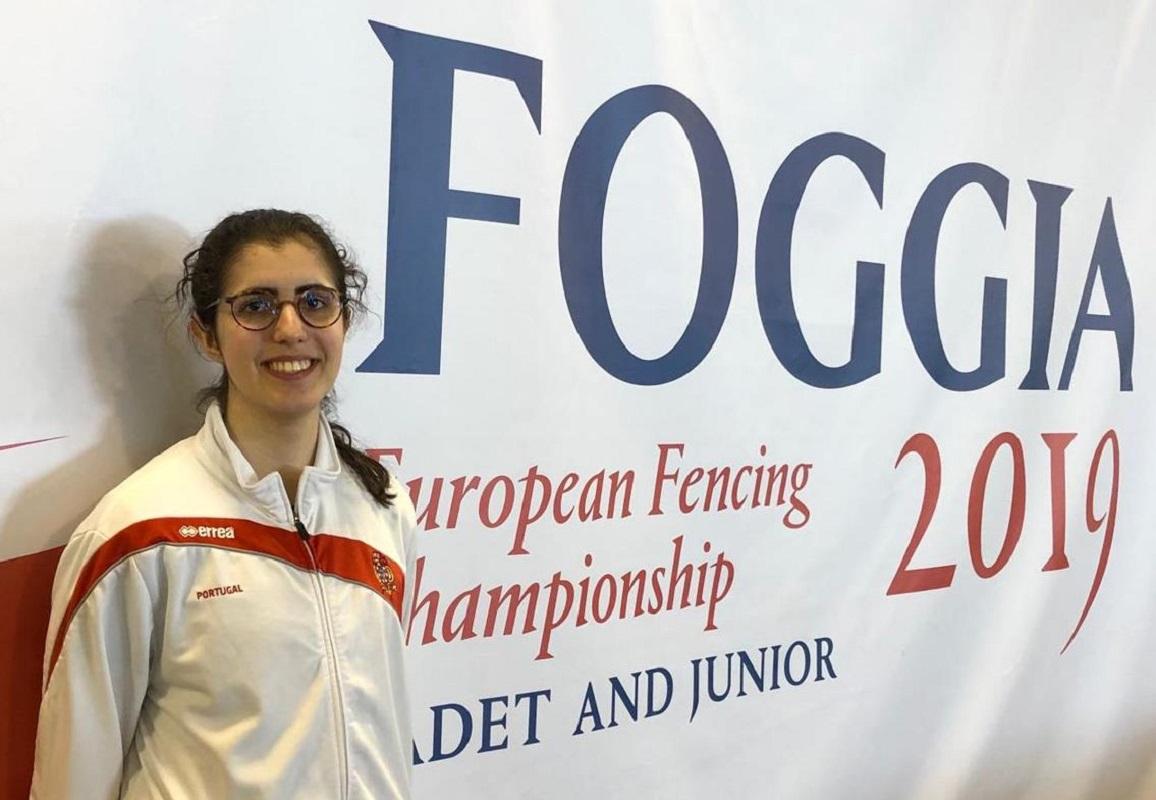 Atleta vianense conquista 20º lugar no Europeu de Esgrima