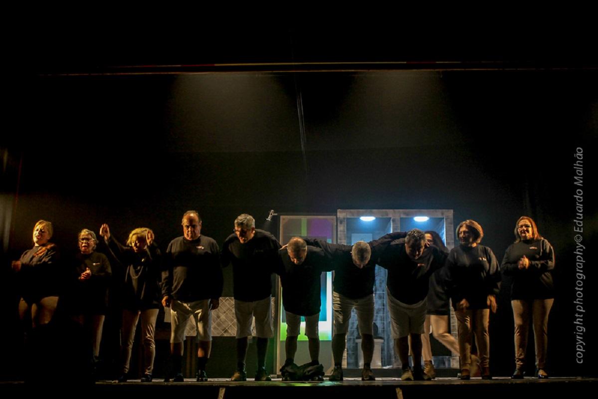 Companhia de teatro de Viana pela primeira vez em encontro de teatro associativo