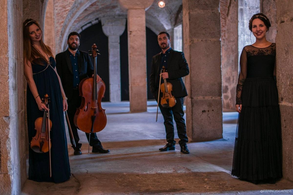 Artmusic Ensemble atuam na Capela da Senhora das Neves no sábado de Aleluia
