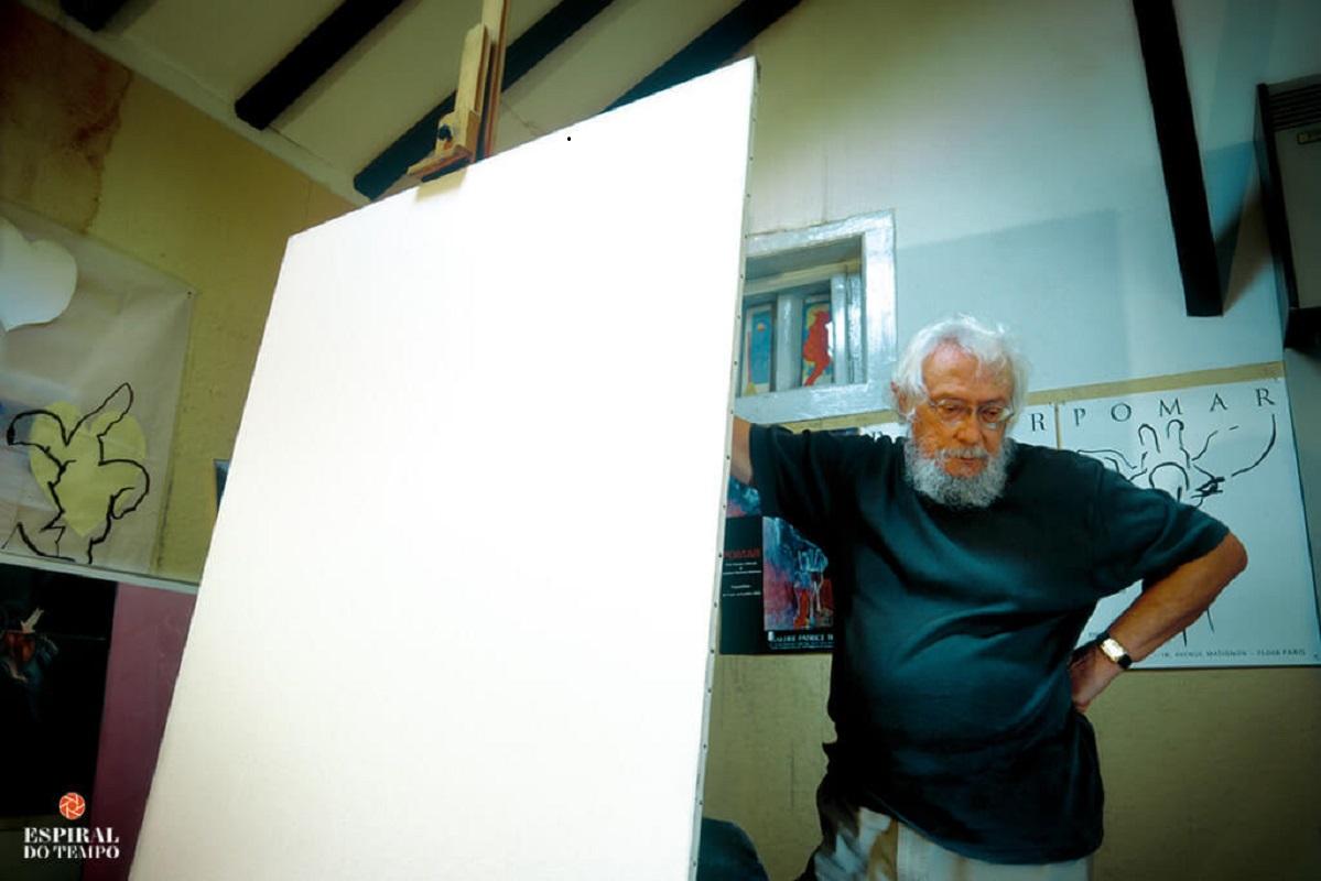 Mostra de Júlio Pomar abre hoje centro académico do Politécnico Viana