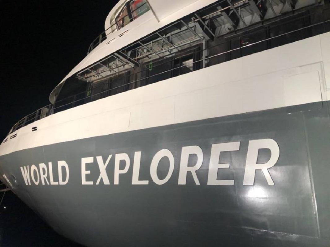 Há 45 anos que não era construído em Portugal um navio com a dimensão do Word Explorer