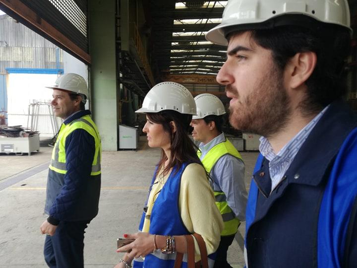Candidatos do Partido Aliança visitam estaleiros da WestSea em Viana do Castelo