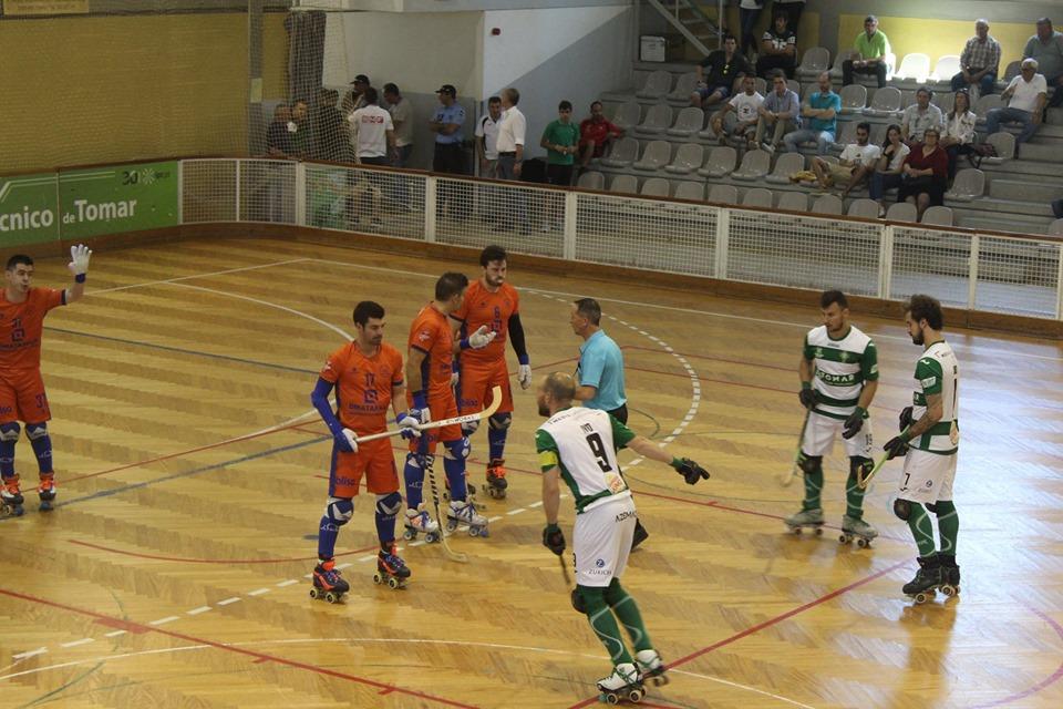 Hóquei em patins: Juventude de Viana fecha a época com empate na casa do Sp. Tomar