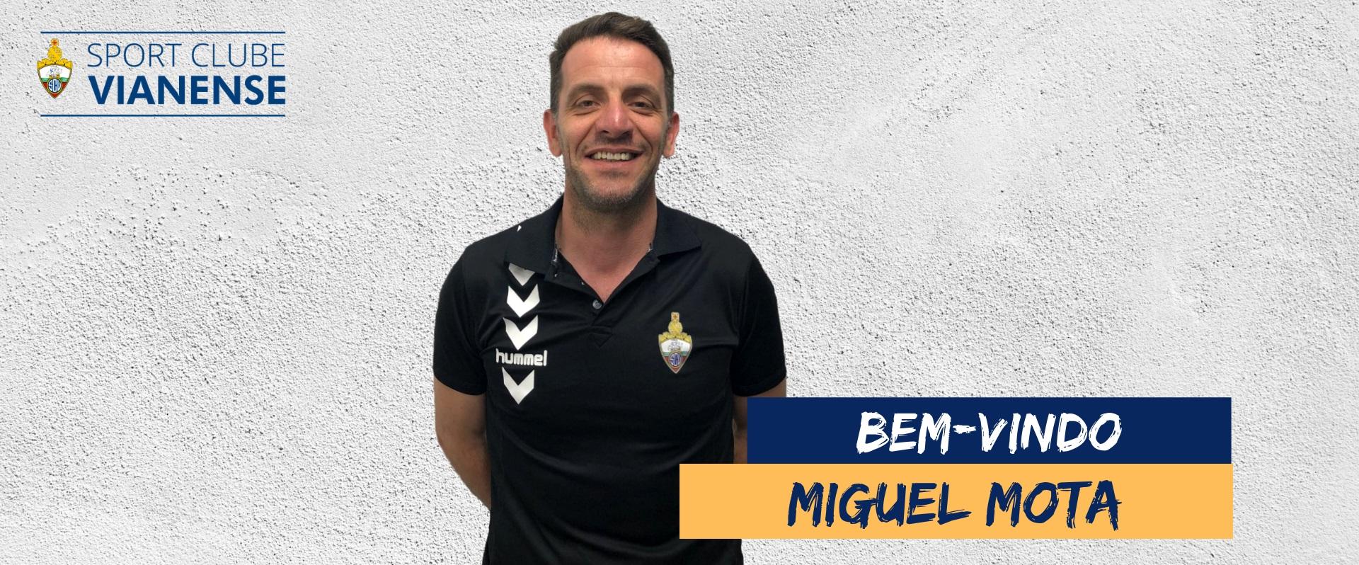 Direção do Vianense aposta em Miguel Mota para treinador da nova época