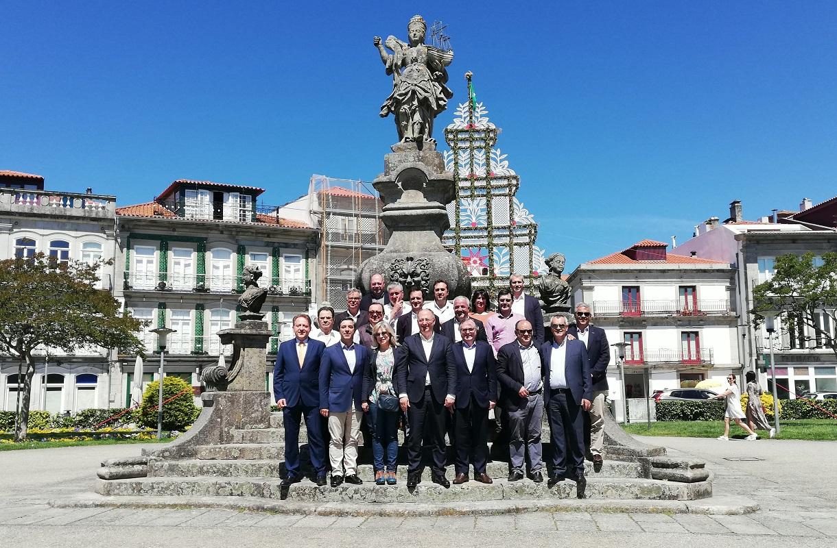 José Manuel Fernandes começa em Viana campanha do PSD às europeias