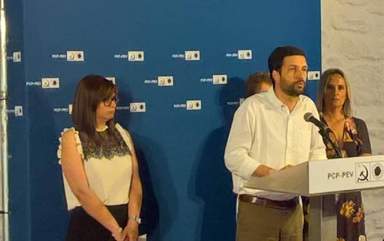 """Europeias: Estaleiros e """"privatização"""" da água marcam início da campanha da CDU em Viana"""