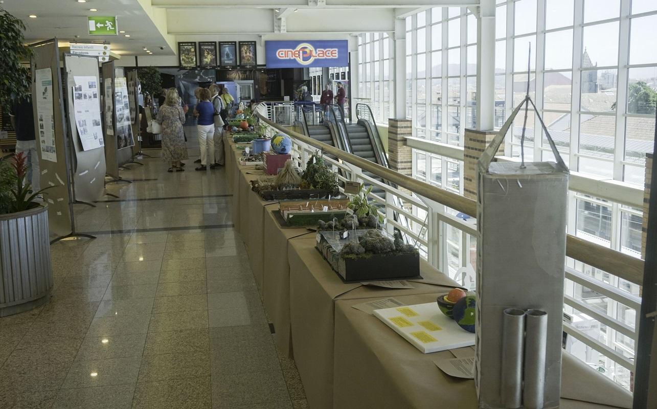 Exposição Escolas GeoParque inaugurada no Estação Viana Shopping