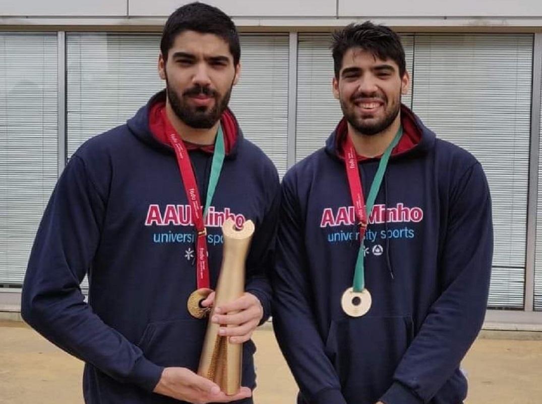 Irmãos Cunha são campeões nacionais universitários de voleibol