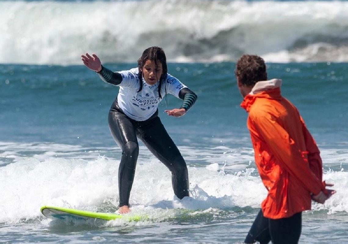 Marta Paço sagra-se campeã europeia de Surf Adaptado na Praia do Cabedelo