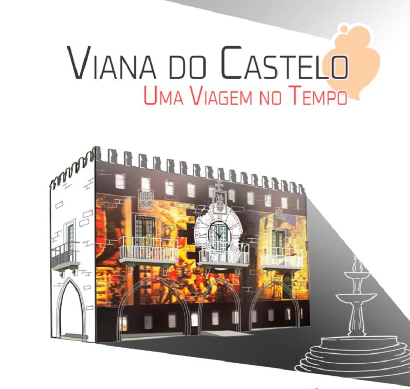História de Viana projetada nos Paços do Concelho em espetáculo de 'videomapping'