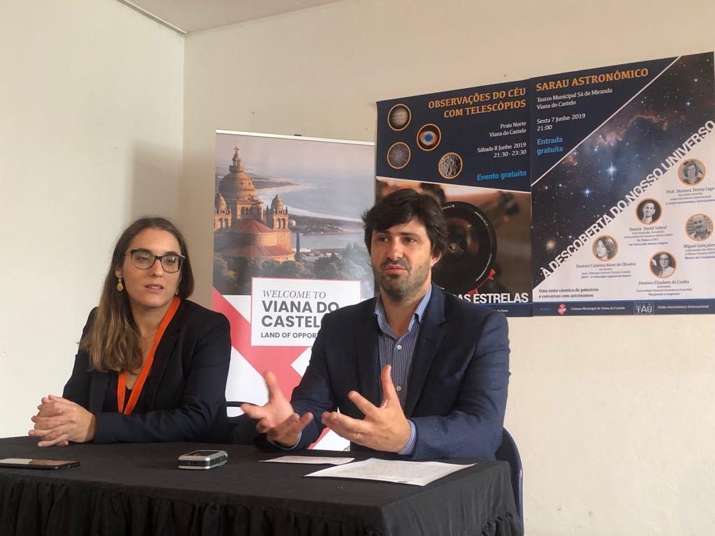 Cerca de 180 cientistas de 24 países reunidos em Viana no 352º Simpósio da União Astronómica Internacional,