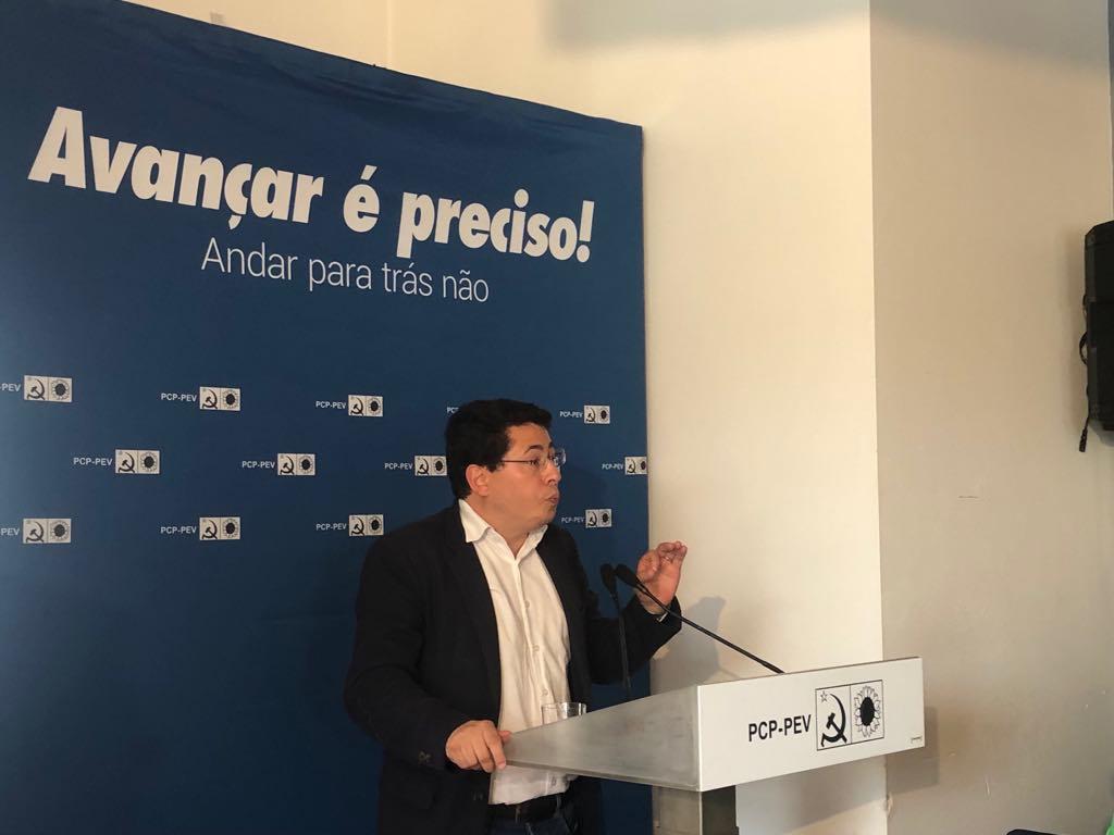 Deputado do PCP, Jorge Machado, visita Viana e Arcos de Valdevez