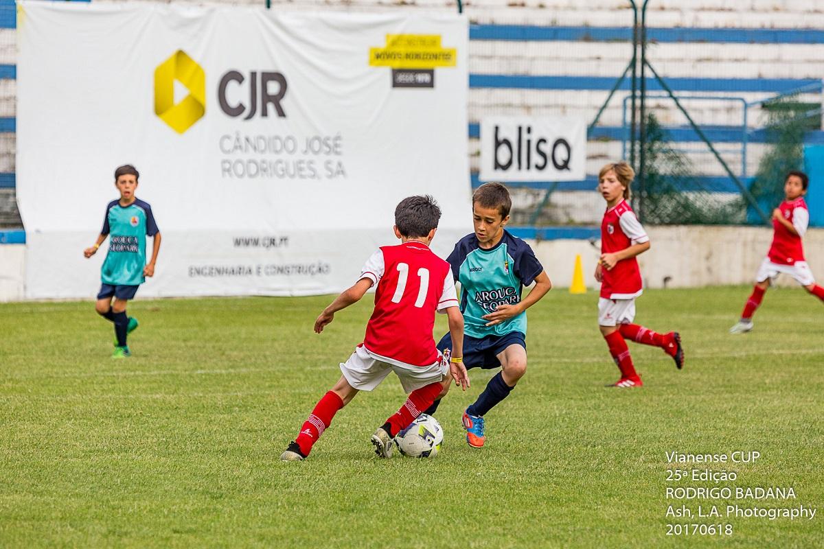 Estádio Dr. José de Matos acolhe Vianense Cup/ Blisq/ 27ª edição Rodrigo Badana