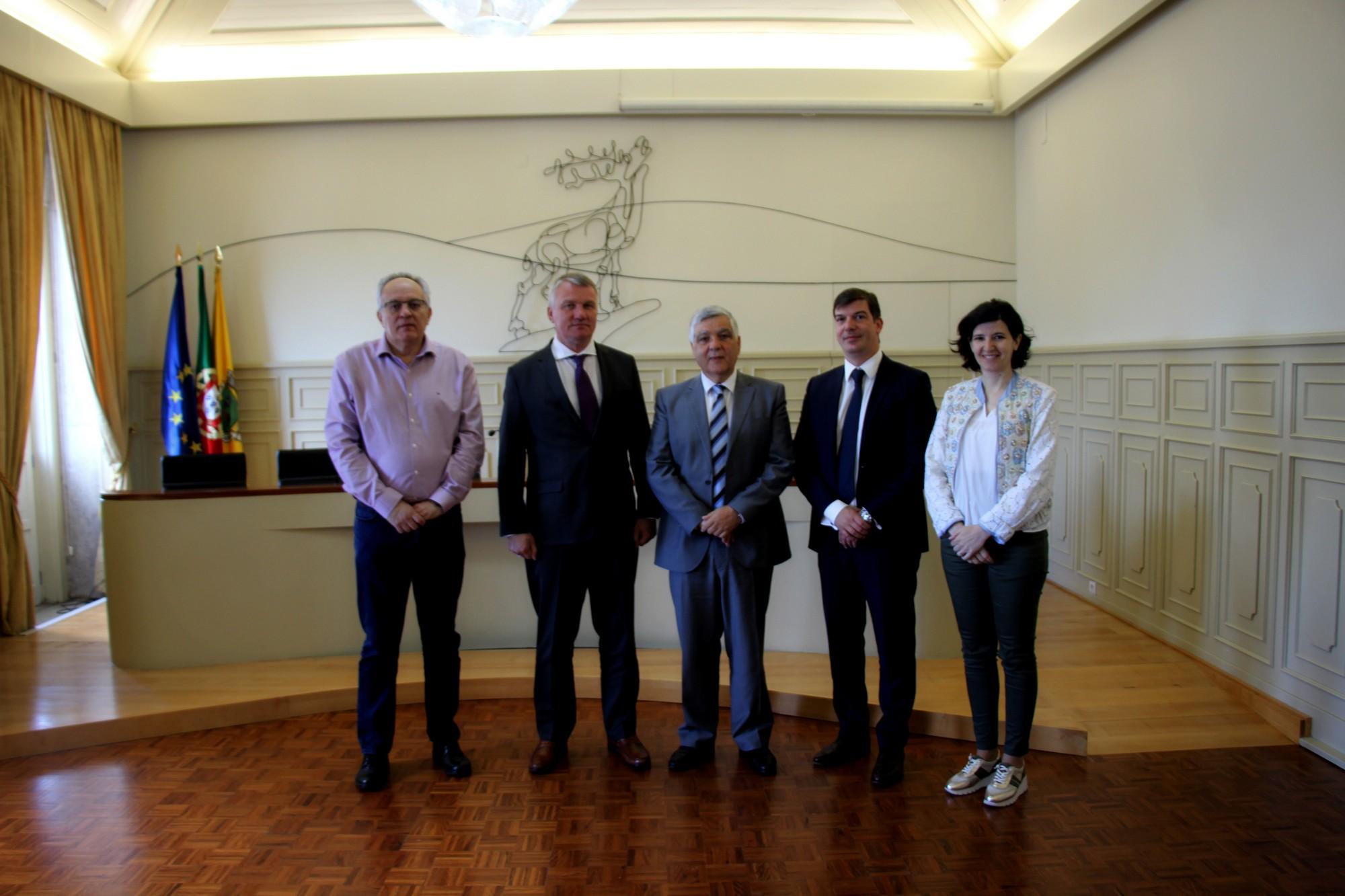 Embaixador e cônsul honorário da República da Letónia em Portugal visitam Vila Nova de Cerveira