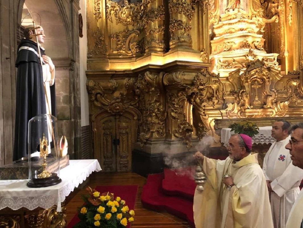 PJ apanha homem 25 anos e recupera relicário do Frei Bartolomeu dos Mártires