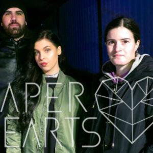 O Que Se Faz Por Cá – 26 Jul – Paper Hearts