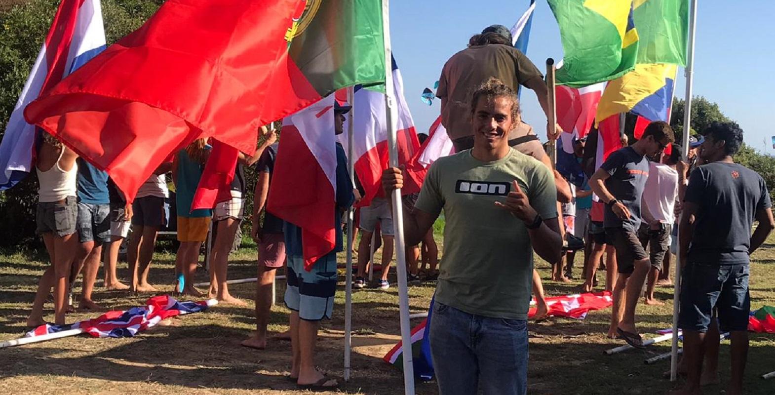 Vianense Pedro Afonso é único português no Campeonato do Mundo de Kitesurf, em Espanha