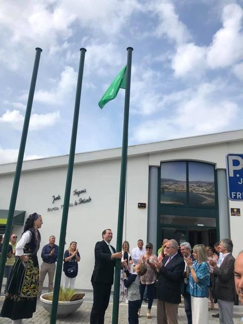 Santa Marta de Portuzelo ergue bandeira verde
