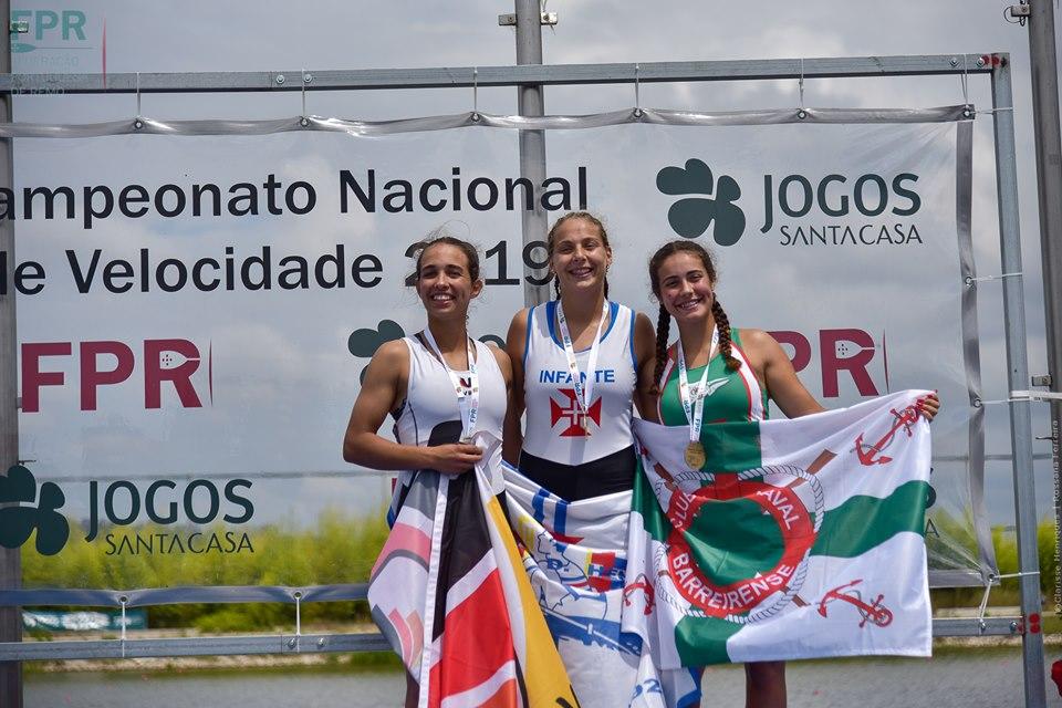 Tripulações do Viana Remadores do Lima sagram-se campeãs nacionais