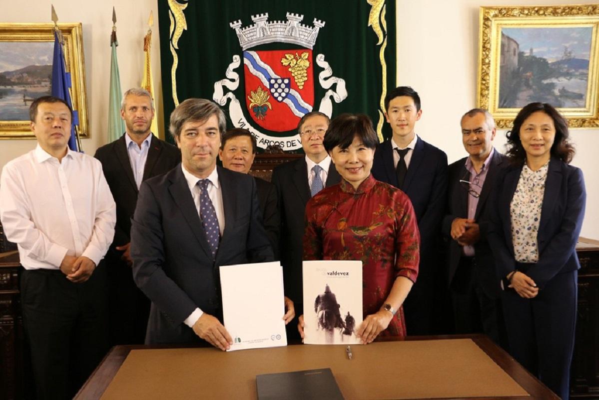 Arcos de Valdevez e localidade Chinesa celebraram acordo de cooperação