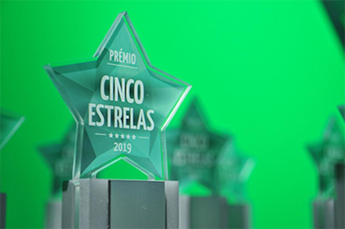 Estão abertas as candidaturas para o prémio Cinco Estrelas Regiões 2020