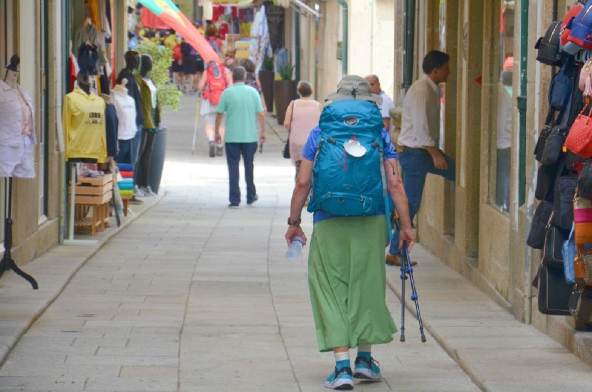 Mais de 32 mil peregrinos já passaram este ano por Valença a caminho de Santiago