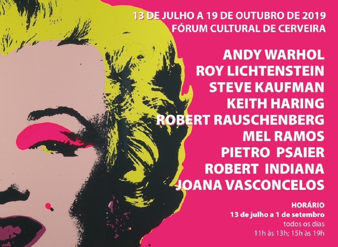 Joana Vasconcelos e os grandes nomes da POP ART juntos no Museu Bienal de Cerveira