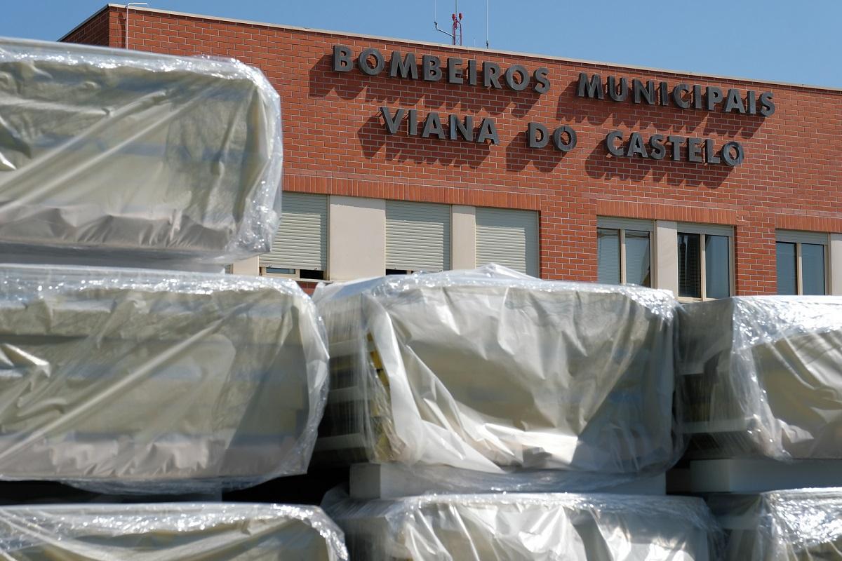 Quartel dos Municipais de Viana já está a ser requalificado num investimento de mais de 200 mil euros