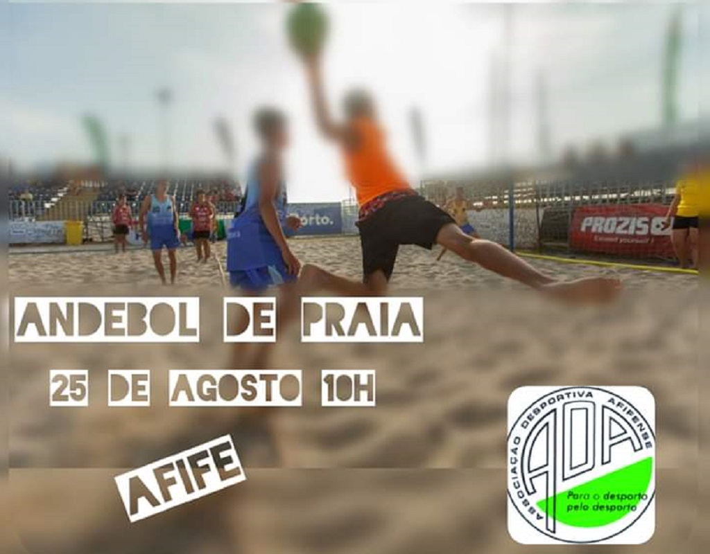 Associação Desportiva Afifense promove andebol na praia junto das crianças