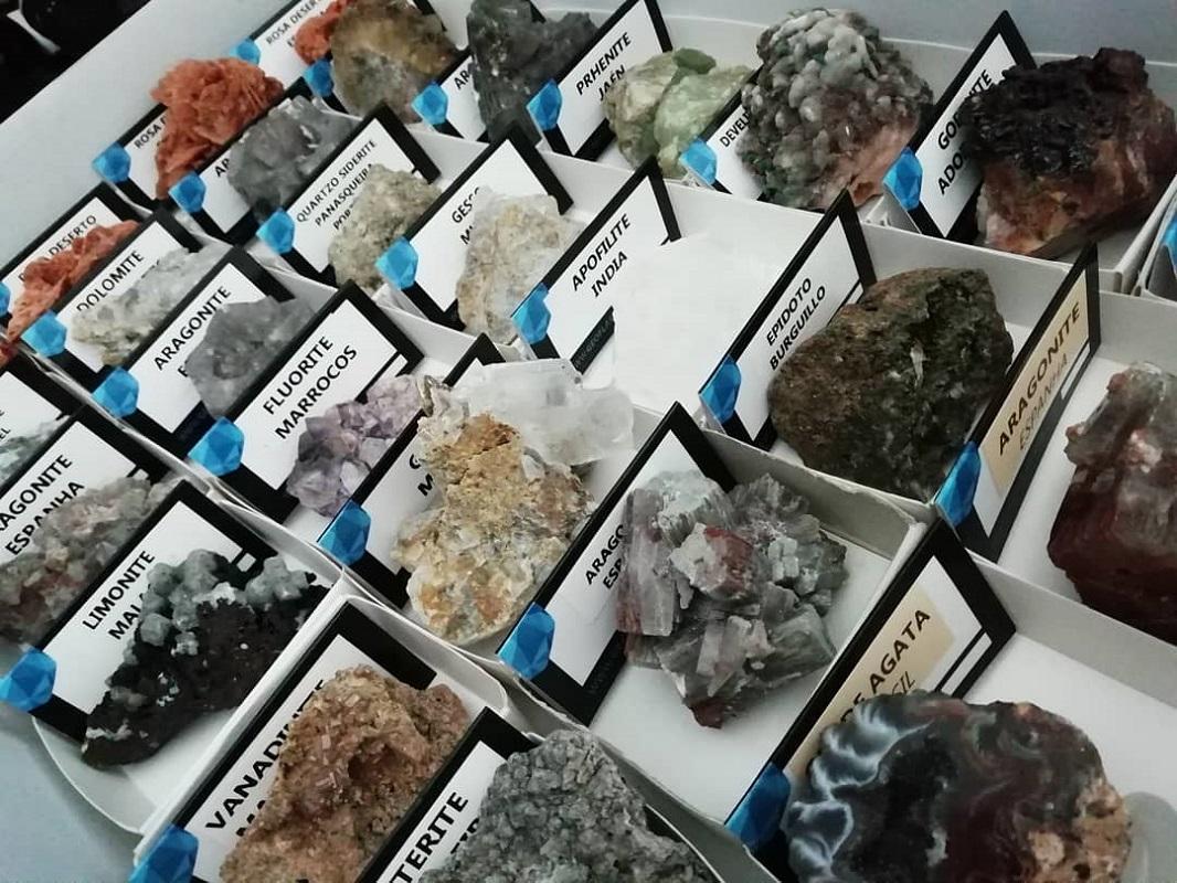GEOflash, a paixão de Miguel Bezerra pelos minerais